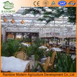 Ökologisches Gaststätte-Glasgewächshaus verwendetes Handelsgewächshaus