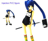 Belle Fille Injection PVC Figure Toys (ZB-019)