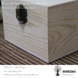 Caisse d'emballage en bois faite sur commande de bijou de Hongdao avec le prix bon marché Wholesale_L