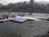 Sistema modular del dique flotante