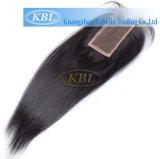 frontal de lacet du cheveu blond 360 de la Vierge 5A