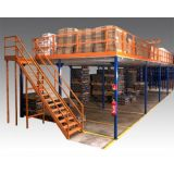 Plataforma do aço de Mezzaine do armazém