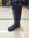 يمهّد أسطوانة منخفضة الزلّة مسيكة (أحذية)