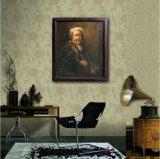Il pittore su pittura a olio