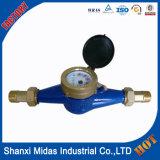 Mètre sans fil d'eau froide de bronze de Multi-Gicleur de Dn25mm