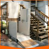 Elevador vertical da plataforma para enfermos