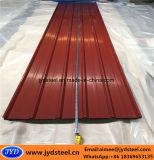 波形カラー屋根ふきのための上塗を施してある台形シート