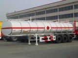 Petrolero de camino del semi-remolque para transportar los productos petrolíferos con la densidad @0.9.