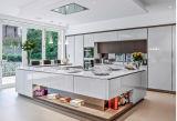 Moderner hoher glatter Küche-Schrank (BMW750)