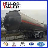 Edelstahl-Kraftstoff-Tanker-halb Schlussteil 45000L Tri-Welle Kraftstoff-Tanker-LKW-Schlussteil