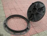 Tampas de câmara de visita Ductile médias do ferro da forma redonda do dever