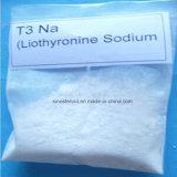 Sodio ardiente gordo anabólico legal Liothyronine CAS 55-06-1 del T3 de los esteroides