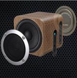 Audio mini altoparlanti professionali di Bluetooth dell'ufficio senza fili di legno