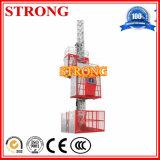 [سك200] مزدوجة أقفاص بناء مصعد جديدة أو يستعمل