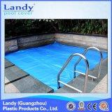 Couverture en plastique de syndicat de prix ferme de bulle de piscine, durable et Anti-UV