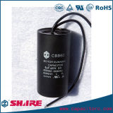 Condensador de la CA Cbb60 para el motor de la lavadora