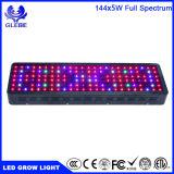 최고 빛 720W LED는 실내 플랜트 Veg와 꽃을%s 가벼운 가득 차있는 스펙트럼을 증가한다