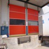 Автоматический ролик ткани PVC вверх по быстрой двери для широко using
