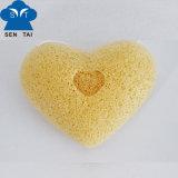 [فسل] طبيعيّة ينظّف إسفنجة [كونجك] (قلب شكل)