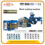 Máquina automática cheia do bloco do tijolo do cimento com certificado do Ce