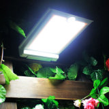 정원 거리를 위한 최고 밝은 46 LED 옥외 태양 에너지 빛 PIR 운동 측정기 안전 방수 태양 램프