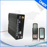 Perseguidor lleno del GPS de la función con el motor de Illeagal en alarma