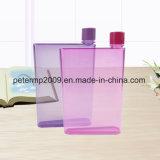 Botella de agua plana de la botella portable de 320ml A5 mini