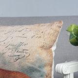 18 Zoll-Vierecks-Polyester-Ebenen-im Freienkissen für Sofa