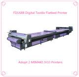 Stampante diretta del cotone a base piatta, macchina di stampaggio di tessuti