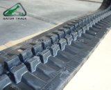 A máquina escavadora segue as trilhas de borracha da esteira rolante de borracha (300*52.5N)