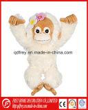 Jouet coloré de peluche de singe bourré pour le produit de gosse