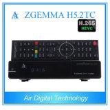 DVB S2 + kombinierter Support H. 265 des Zwilling-DVB T2/C Zgemma H5.2tc