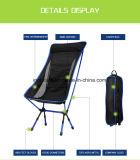 백레스트와 베개를 가진 빛 7075 Aerometal 접는 의자