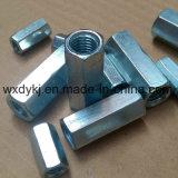 Noce di accoppiamento placcata zinco del Rod della sfortuna di BACCANO 6334 del acciaio al carbonio