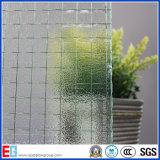 Clear Wired Nashiji Pattern Glass / Figured Vidro / Vidro decorativo