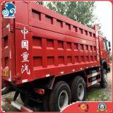 Autocarro con cassone ribaltabile utilizzato 30ton di estrazione mineraria di LHD 6*4 Sinotruck HOWO