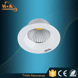 El techo de aluminio de la MAZORCA de la iluminación de Guangzhou LED abajo se enciende