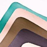 Couro sintético Eco-Friendly do plutônio 2017 para sapatas Carseat das bolsas da mobília
