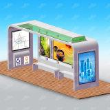 O fabricante de China personalizou o tamanho que anuncia o projeto do abrigo de barramento