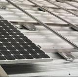 Système solaire fixe diplômée de support de dessus de toit de fabrication