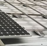 Système solaire fixe de support de dessus de toit normal de l'Europe