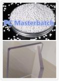 Материал белого поликарбоната Masterbatch пластичный