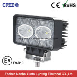 High Intensity Wholesale 20W CREE LED Work Light (GT1011B-20W)