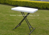 HDPE  Personal  3개 고도 Adjustable  Table  정원 백색
