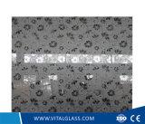 O ácido decorativo gravou o vidro da arte com CE, ISO