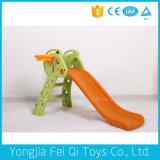 Glissière en plastique d'enfants de cour de jeu de jouet d'intérieur de gosse pour des gosses