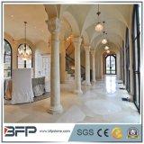 Colonne vuote di pietra di marmo naturali