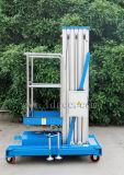 алюминиевая гидровлическая платформа подъема воздушной работы 8meters (синь GTWY8-100)