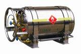 Bombola per gas criogenica del camioncino scoperto LNG