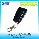 Alarme sans fil de véhicule de 4 clés rf à télécommande avec glisser la couverture